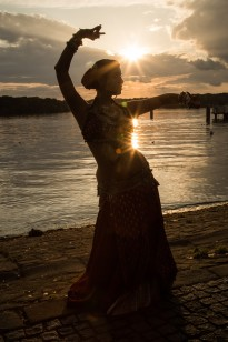 Tribal Fusion Camp mit Josefine Wandel 2016 Osnabrück Oriental Art